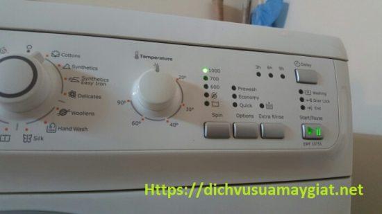 Máy giặt Electrolux nháy đèn Start báo lỗi nguyên nhân và cách sửa như thế nào?