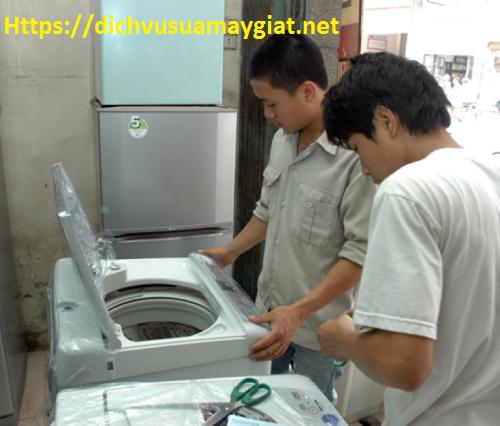 Sửa máy giặt tại Hoàng Quốc Việt – Thợ nhiều năm kinh nghiệm.