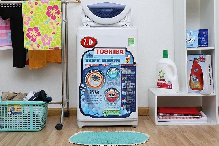 Máy giặt Toshiba báo lỗi E9 nguyên nhân và cách khắc phục