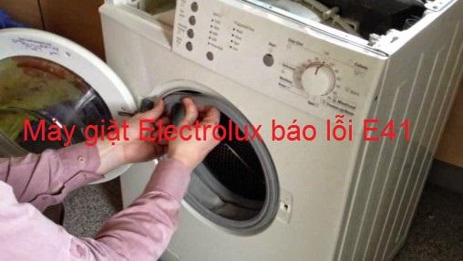 Máy giặt Electrolux báo lỗi E41 : Những biện pháp khắc phục triệt để