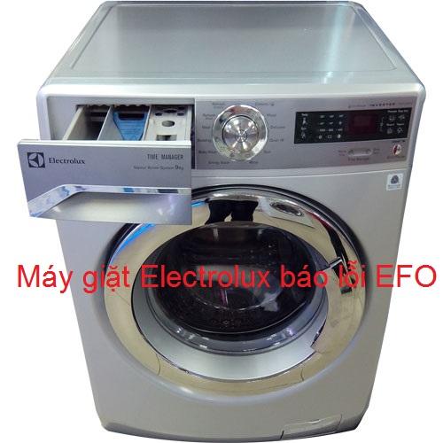 Máy giặt Electrolux báo lỗi EFO nguyên nhân là gì ? Sửa như thế nào ?