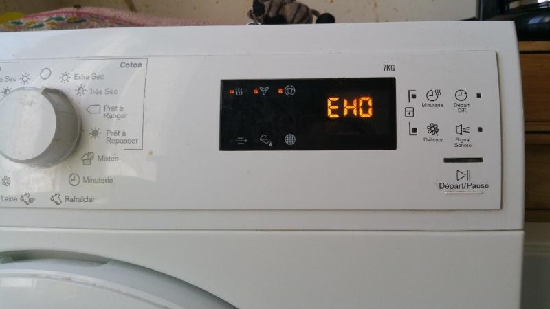 Máy giặt Electrolux báo lỗi EHO nguyên nhân là gì ? Sửa chữa như thế nào ?