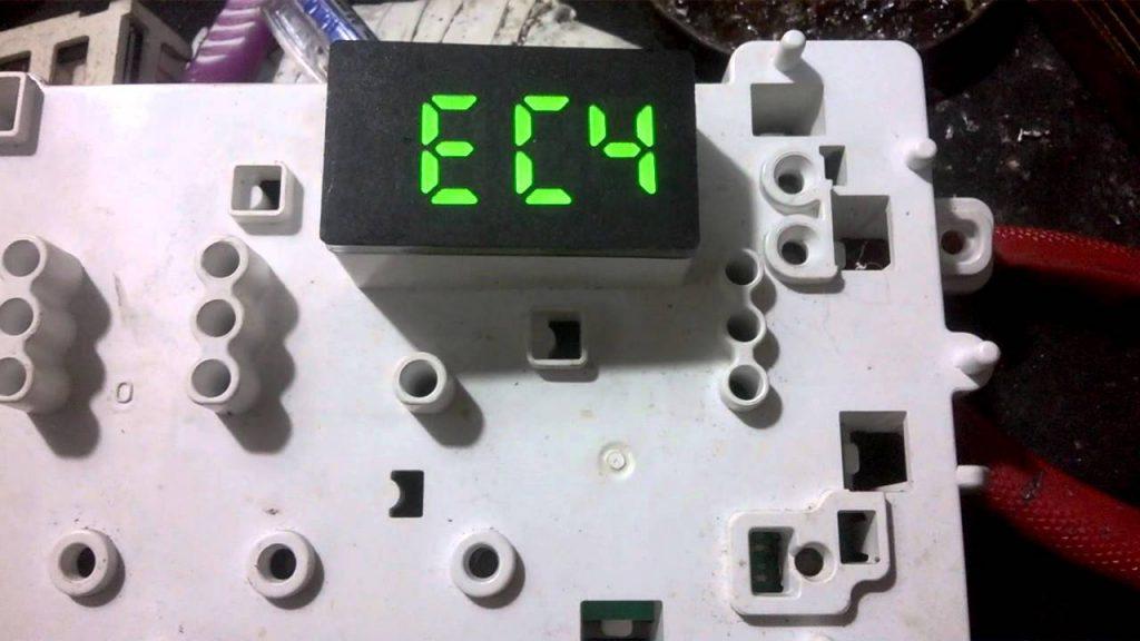 Máy giặt Electrolux báo lỗi EC4 : Xử lý lỗi hỏng nhanh chóng – hiệu quả